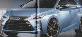 2017 Lexus CT hatchback rendered