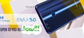 Nougat update starts hitting Huawei Honor 8 units in India